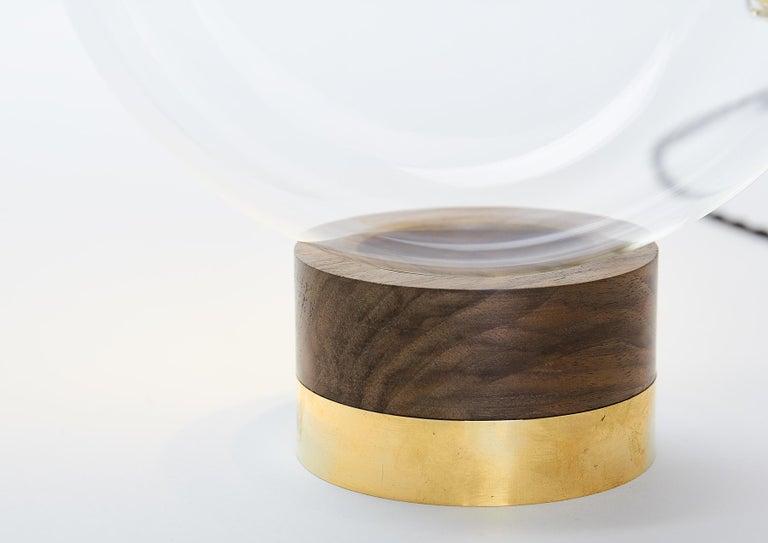 Italian Globo Neptune Sculptural Adjustable Table/Floor Lamp Dimmable Soft Touch Sensor For Sale