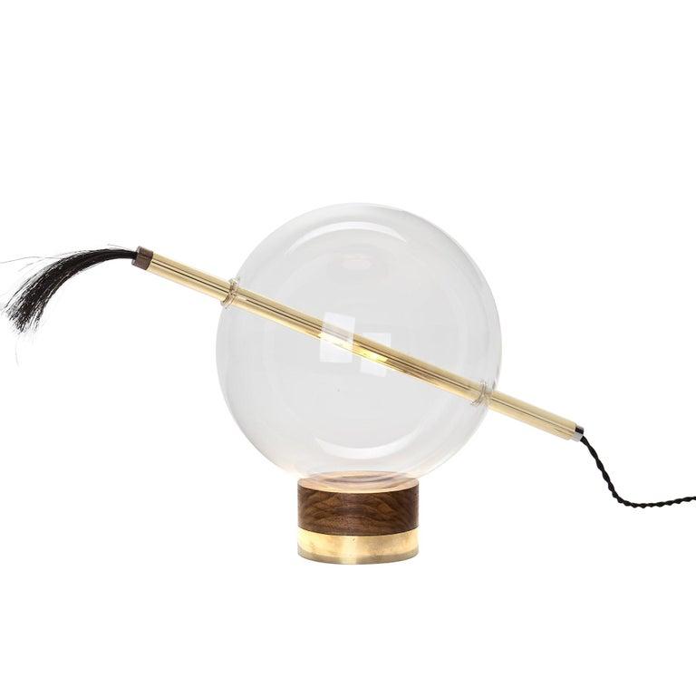 Globo Neptune Sculptural Adjustable Table/Floor Lamp Dimmable Soft Touch Sensor For Sale