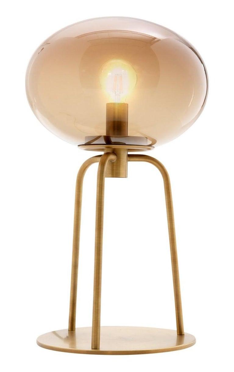 Italian Globo Table Lamp by Ulivi Salotti For Sale