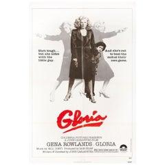 Gloria 1980 U.S. One Sheet Film Poster