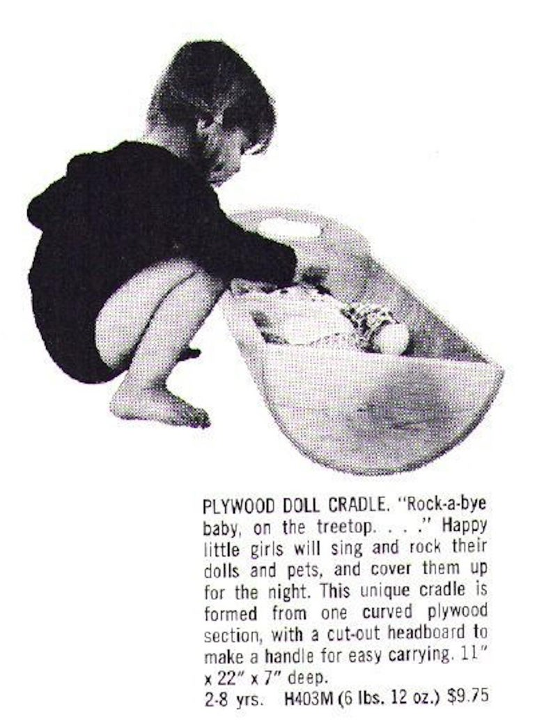Gloria Caranica for Creative Playthings Cradle For Sale 2