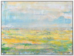 Gloria Saez, Campos de Castilla, Oil on canvas, 2019