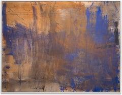 "Gloria Saez, ""Creta I"" Abstract Oil Painting"