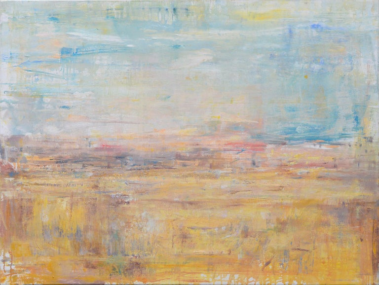 Gloria Saez, Paisaje, Oil on canvas, 2019 - Painting by Gloria Sáez