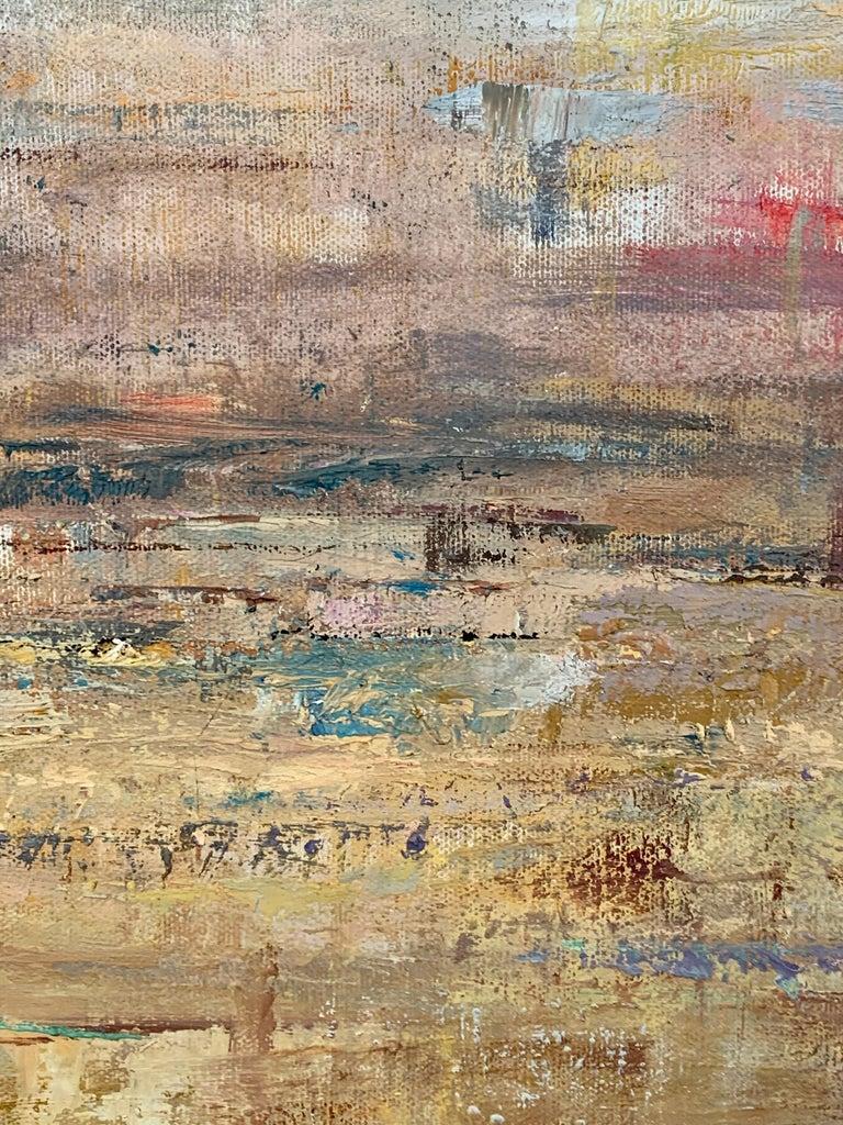 Gloria Saez, Paisaje, Oil on canvas, 2019 For Sale 4