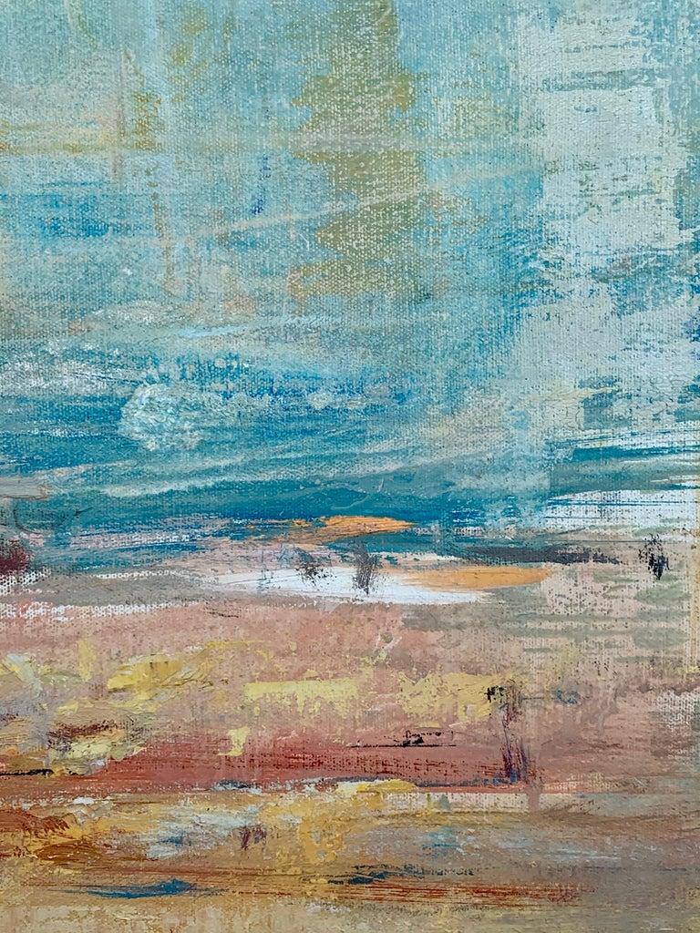 Gloria Saez, Paisaje, Oil on canvas, 2019 For Sale 5