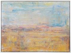 Gloria Saez, Paisaje, Oil on canvas, 2019