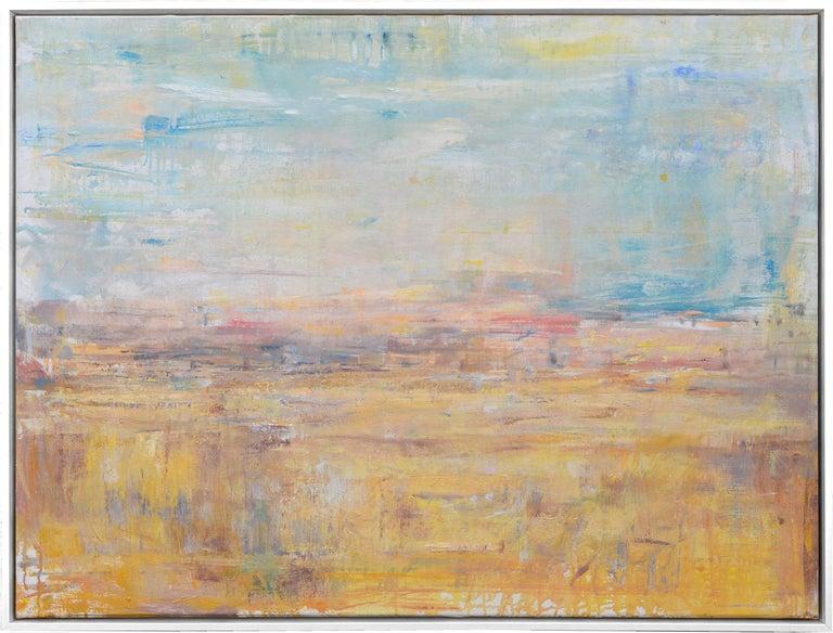 Gloria Sáez Landscape Painting - Gloria Saez, Paisaje, Oil on canvas, 2019