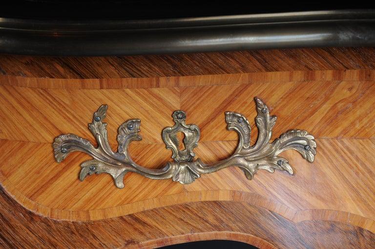 Glorious Bureau Plat or Desk in Louis XV For Sale 8