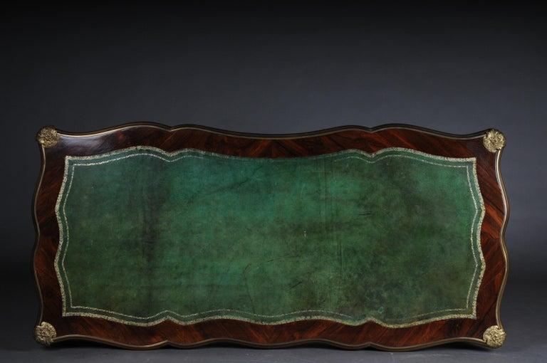 Glorious Bureau Plat or Desk in Louis XV For Sale 14