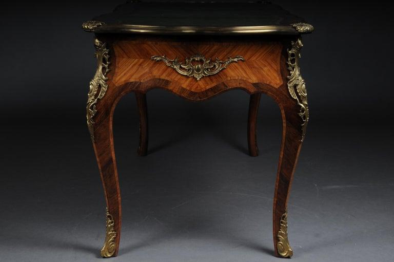 Glorious Bureau Plat or Desk in Louis XV For Sale 1
