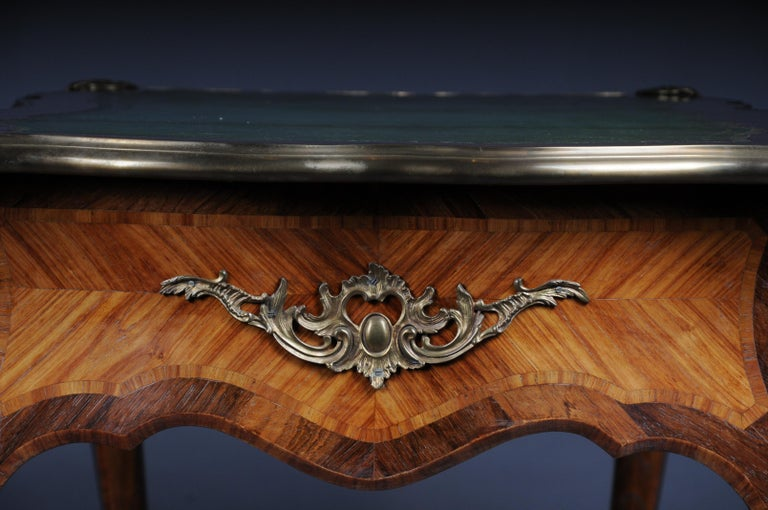 Glorious Bureau Plat or Desk in Louis XV For Sale 2
