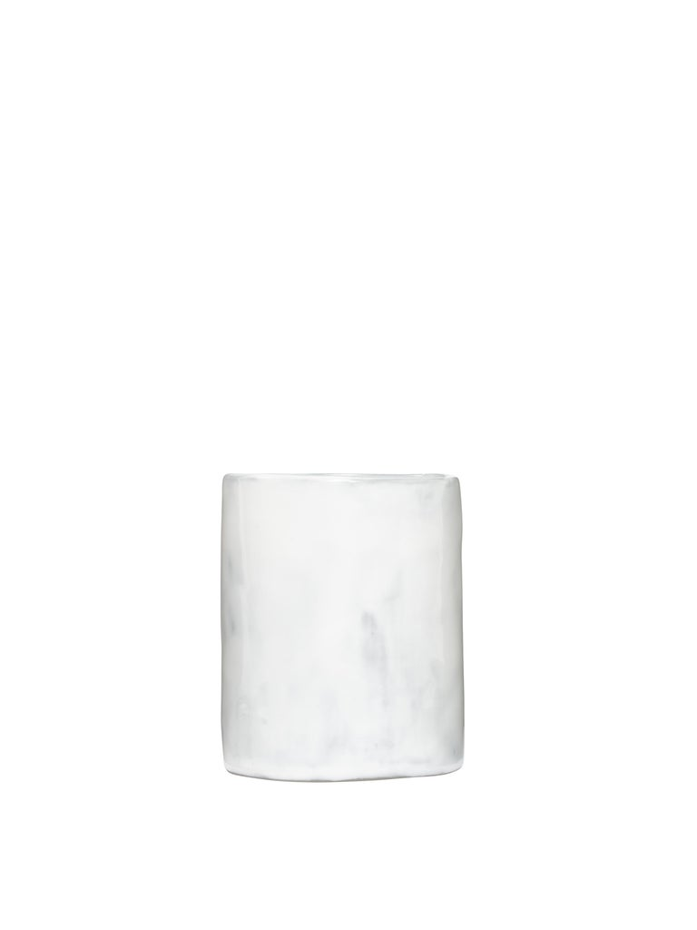 Off-White Glossy Ceramics Glass Taupe  No Color For Sale