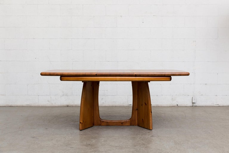 Mid-Century Modern Glostrup Møbelfabrik Danish Pine Table For Sale