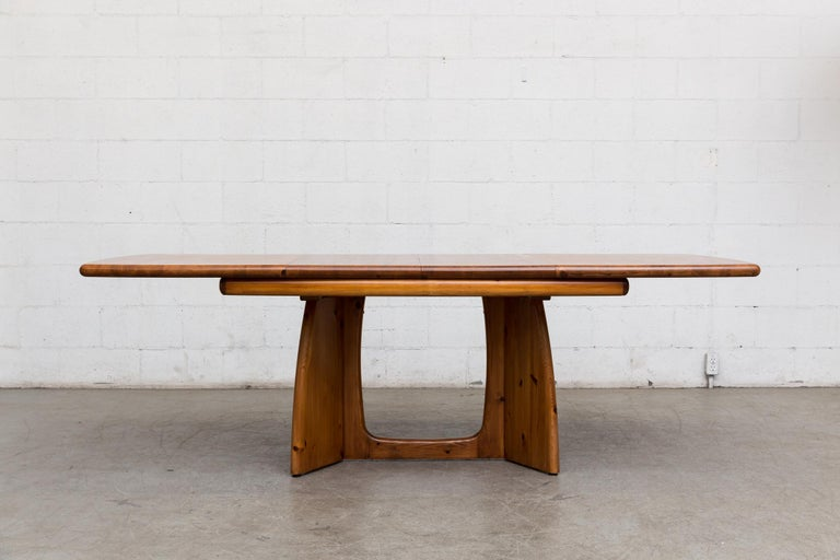 Late 20th Century Glostrup Møbelfabrik Danish Pine Table For Sale