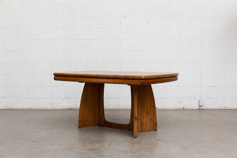 Glostrup Møbelfabrik Danish Pine Table For Sale 1