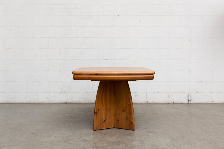 Glostrup Møbelfabrik Danish Pine Table For Sale 2