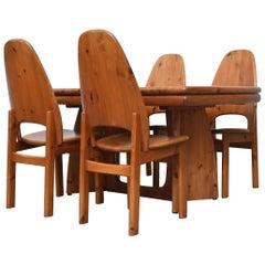 Glostrup Møbelfabrik Danish Pine Table