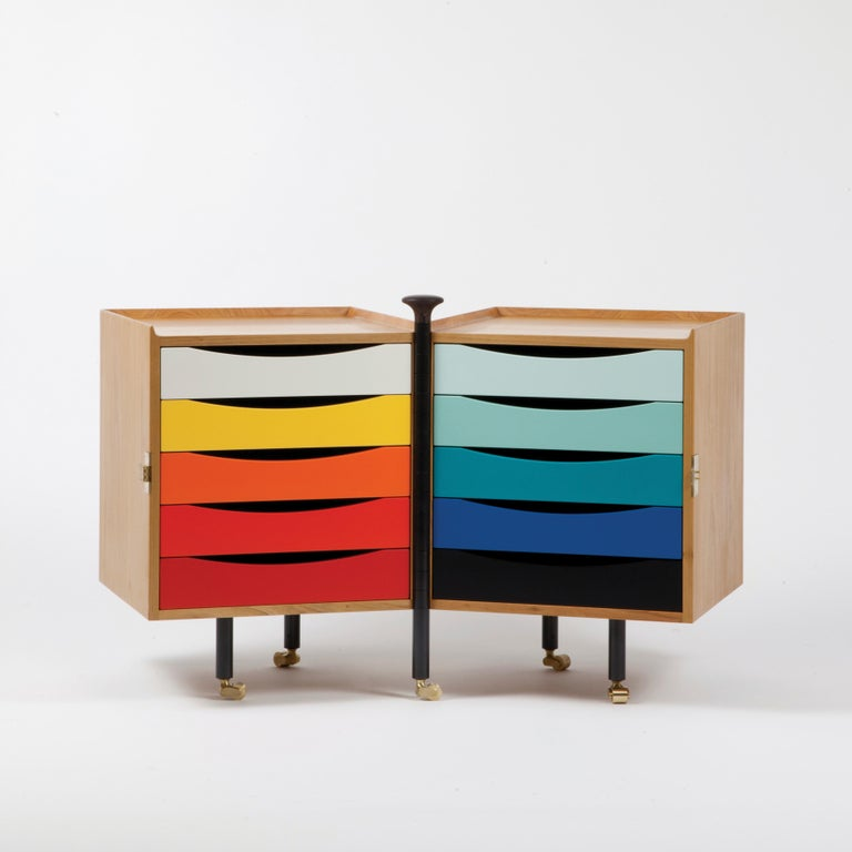Cabinet designed by Finn Jhul