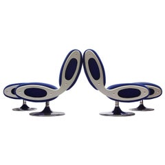 Gluon Lounge Chairs by Marc Newson