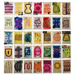 Glyphs by Cheryl Riley