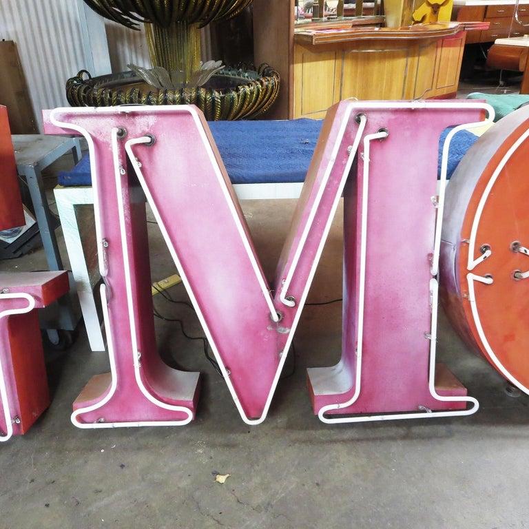 GMC Automobiles Dealership Neon Sign For Sale 3