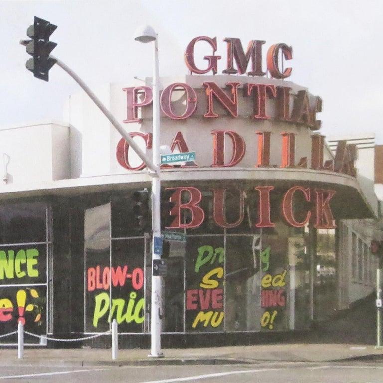 GMC Automobiles Dealership Neon Sign For Sale 4