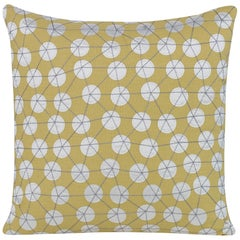 Goaround Pillow in Yellow by Curatedkravet