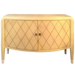 Goatskin Italian Two-Door Sideboard