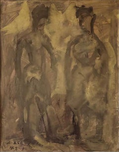 """Untitled, Gouache on Paper by Modern Indian Artist """"In Stock"""""""