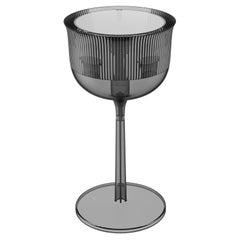 Goblet Table Lamp Medium Fume, Designed by Stefano Giovannoni, Made in Italy