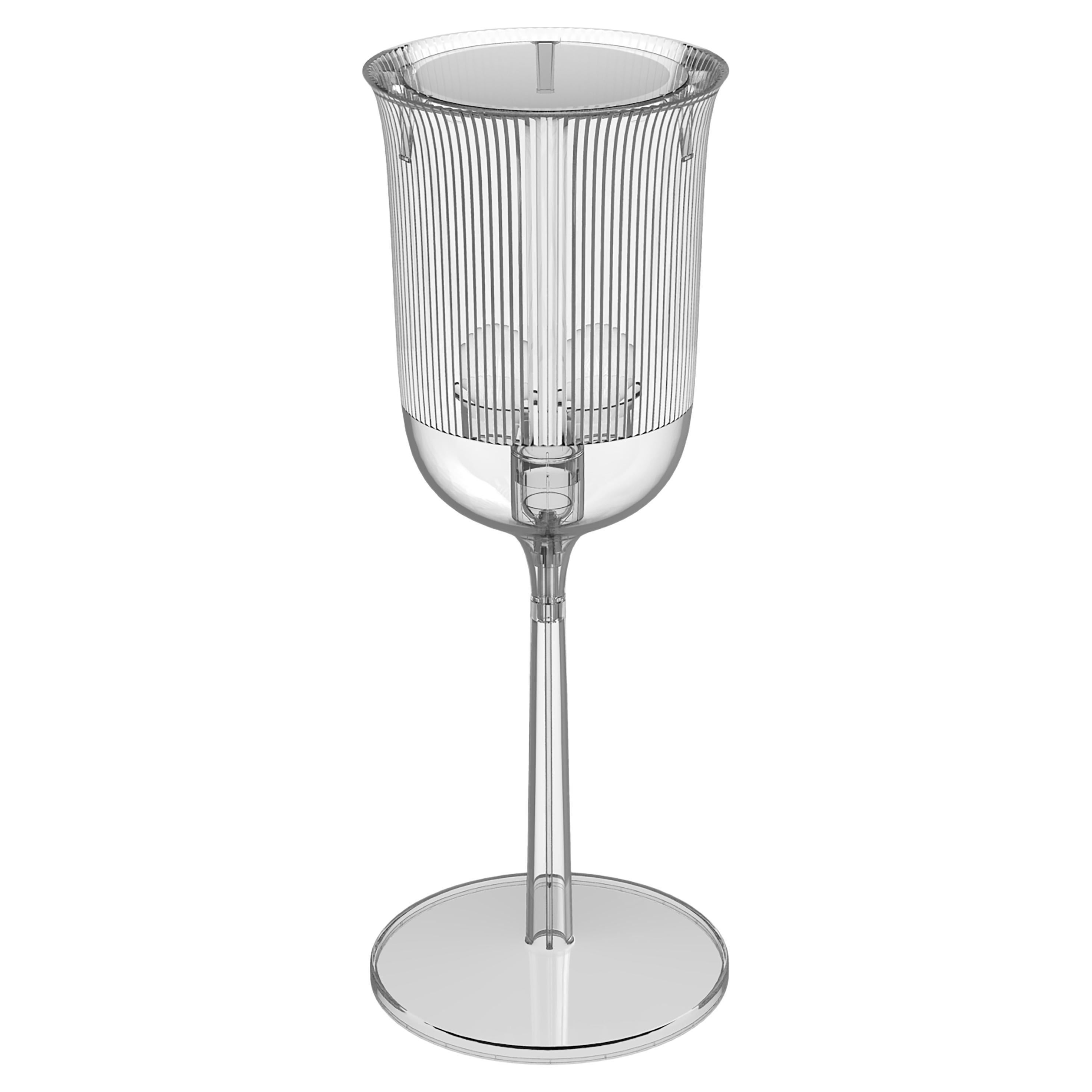 Goblet Table Lamp Small Transparent, Designed by Stefano Giovannoni