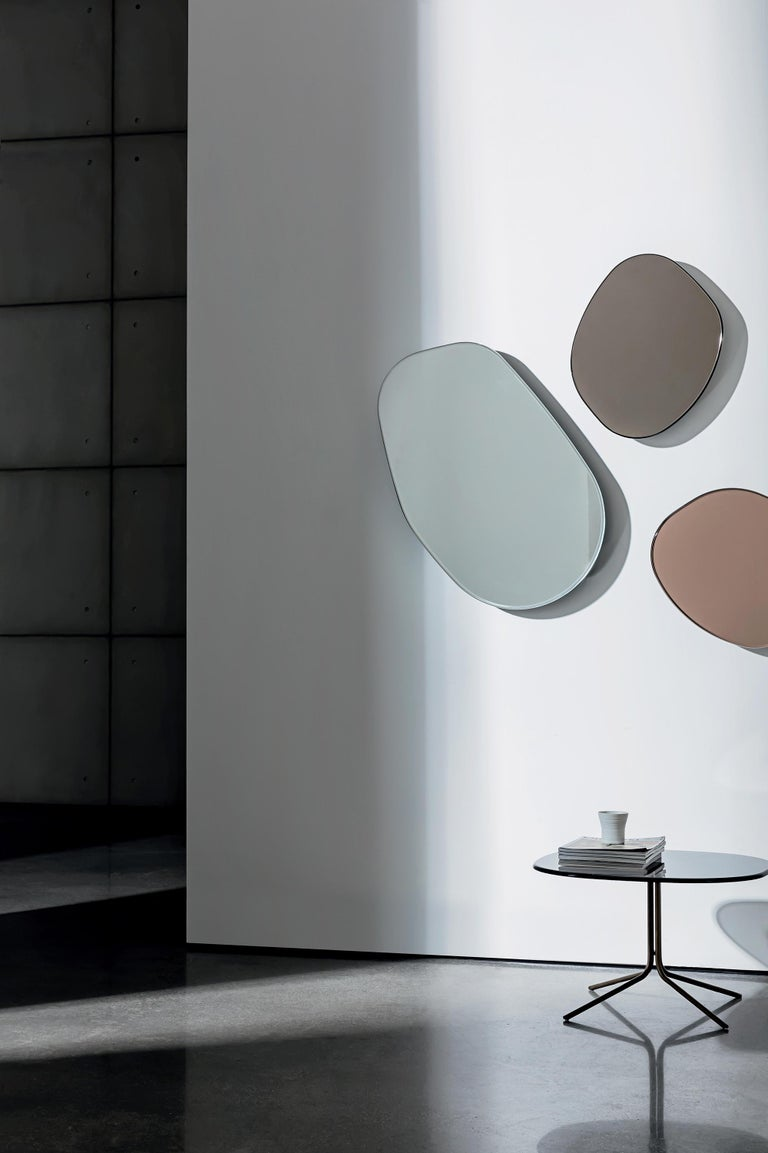 Set of 3 Rugiada Wall Mirrors, Made in Italy In New Condition For Sale In Beverly Hills, CA