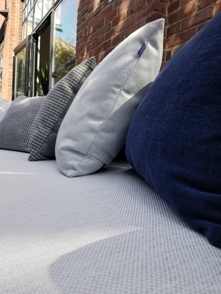 English Gocek Outdoor/Indoor Sofa by Coco Wolf For Sale