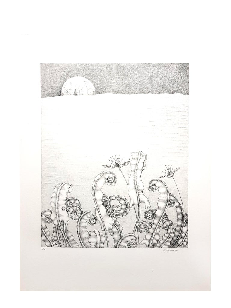 Gochka Charewicz - Herbarium - Original Signed Lithograph - Modern Print by Gochka Charewicz