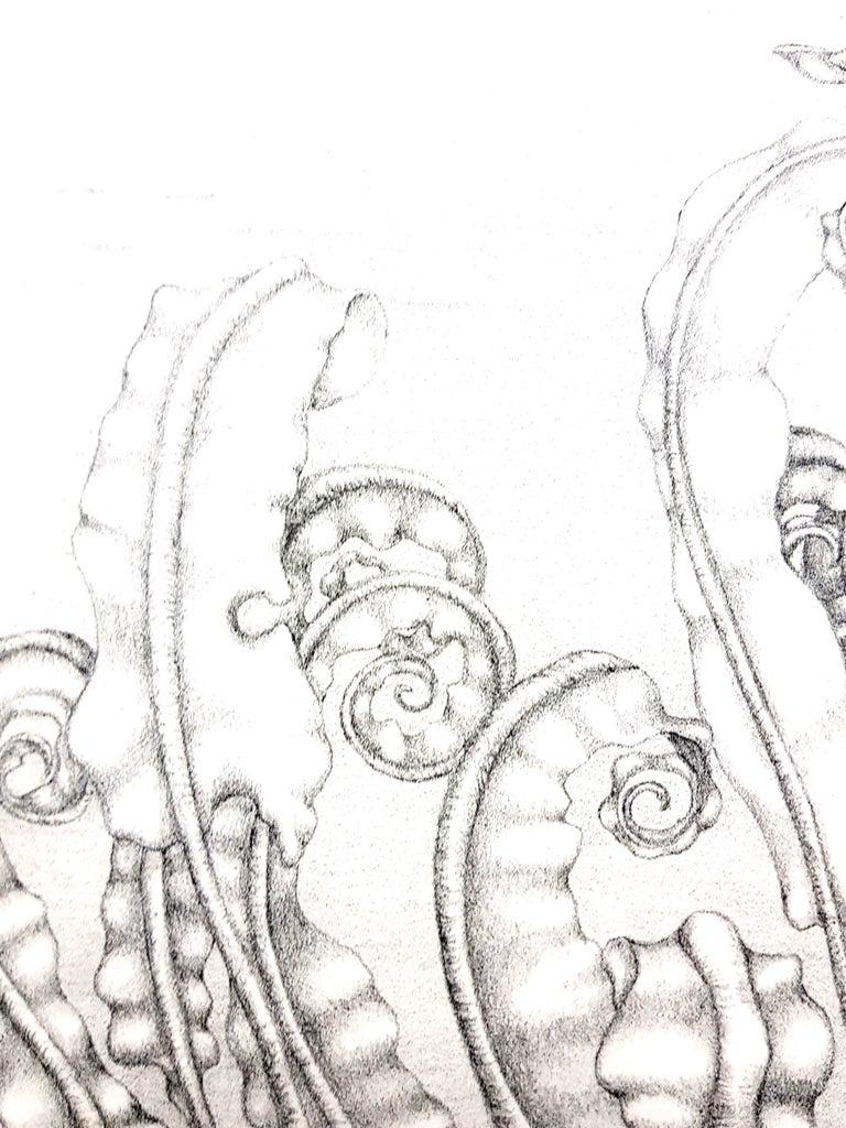 Gochka Charewicz - Herbarium - Original Signed Lithograph For Sale 2