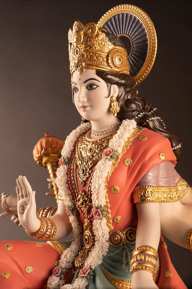 Goddess Durga Sculpture In New Condition For Sale In New York, NY
