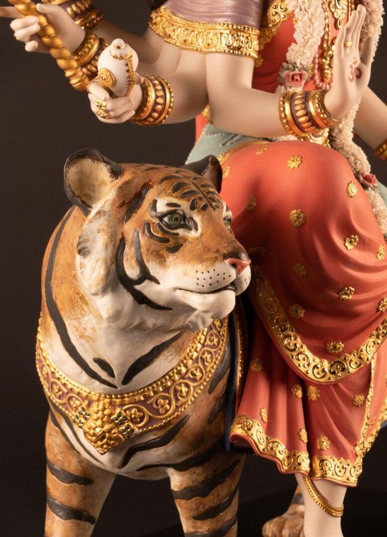 Goddess Durga Sculpture. Limited Edition  For Sale 1