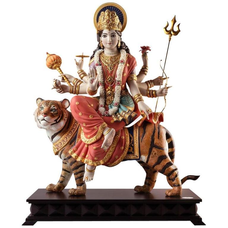 Goddess Durga Sculpture For Sale