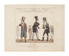 Théâtre des Variétés - Original Etching on Paper - 1820 ca.