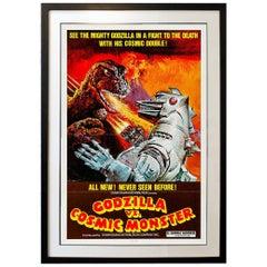 Godzilla Vs Cosmic Monster '1974' Poster