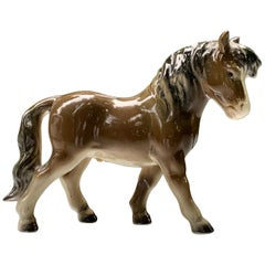 Goebel Germany Miniature Horse Pony Vintage Porcelain Figurine
