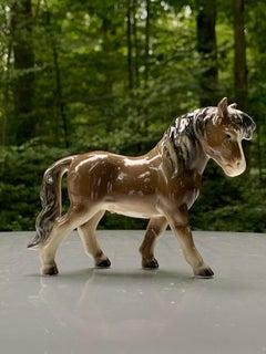Goebel Germany Miniature Horse Pony Vintage Porcelain Figurine