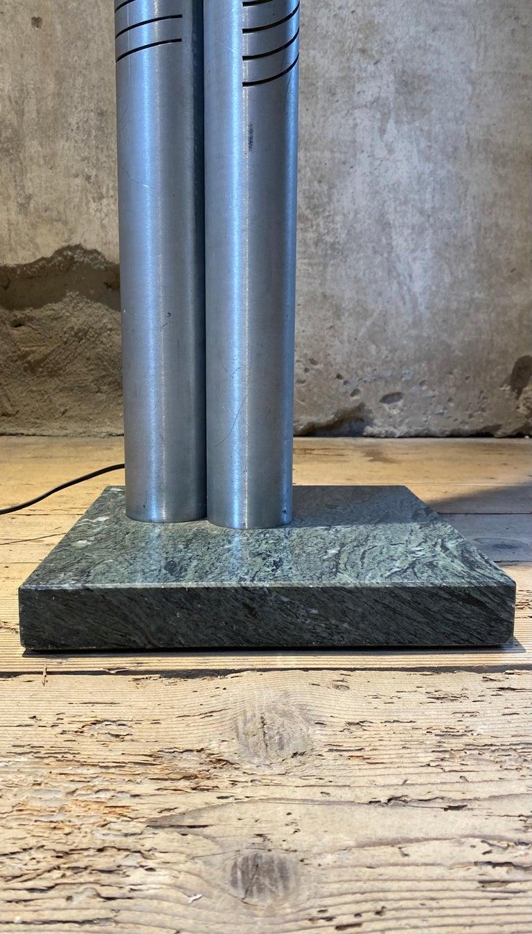 Late 20th Century Goffredo Reggiani Chrome Metal Floor Lamp for Reggiani Illuminazione, 1975 For Sale