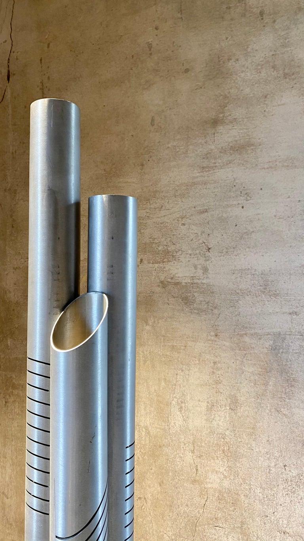 Goffredo Reggiani Chrome Metal Floor Lamp for Reggiani Illuminazione, 1975 For Sale 1