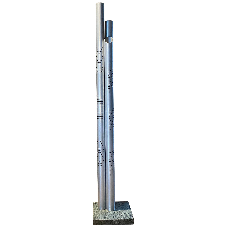 Goffredo Reggiani Chrome Metal Floor Lamp for Reggiani Illuminazione, 1975