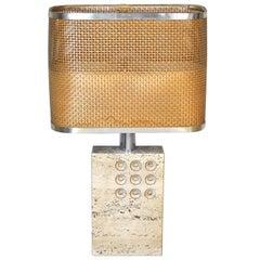 Goffredo Reggiani Italian Midcentury Table Lamp