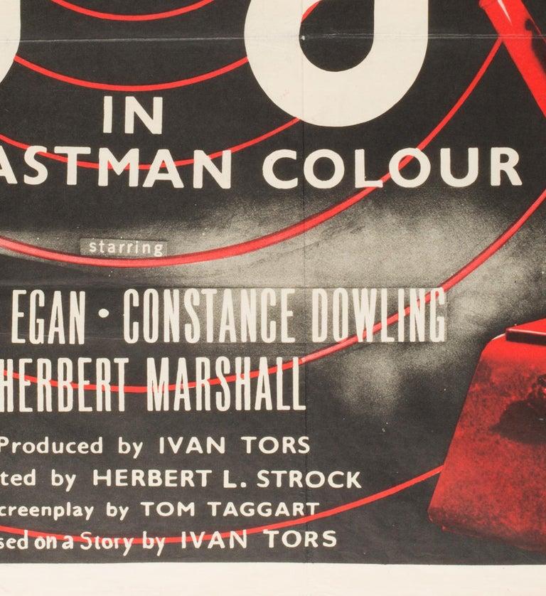 British GOG UK Film, Movie Poster, 1954 For Sale