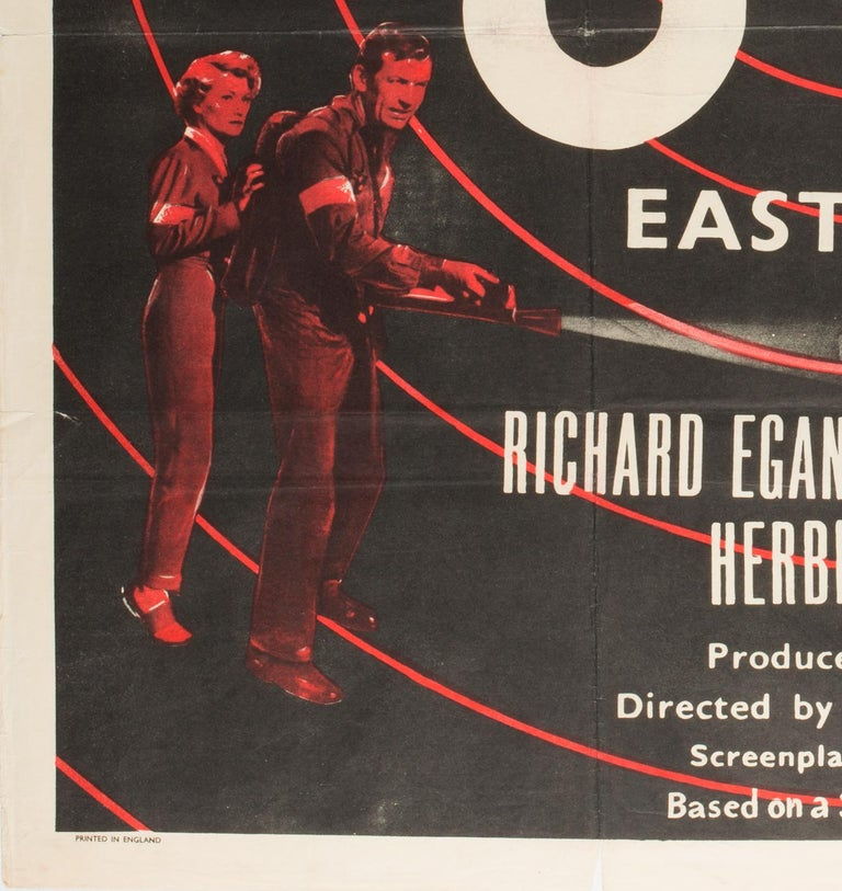 GOG UK Film, Movie Poster, 1954 In Excellent Condition For Sale In Bath, Somerset
