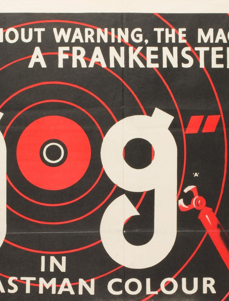 Paper GOG UK Film, Movie Poster, 1954 For Sale
